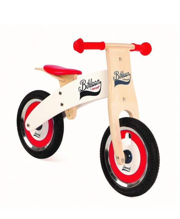 Беговел (велобег) BIKLOON RED/WHITE BALANCE BIKE Janod купить Киев