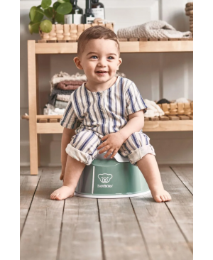 BabyBjorn Горшок Smart Potty, Deep green/white Одесса