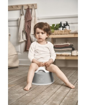 BabyBjorn Горшок Smart Potty, Gray/white Харьков
