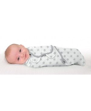 Конверт на липучках Swaddleme Original Gray Star Summer Infant Днепр